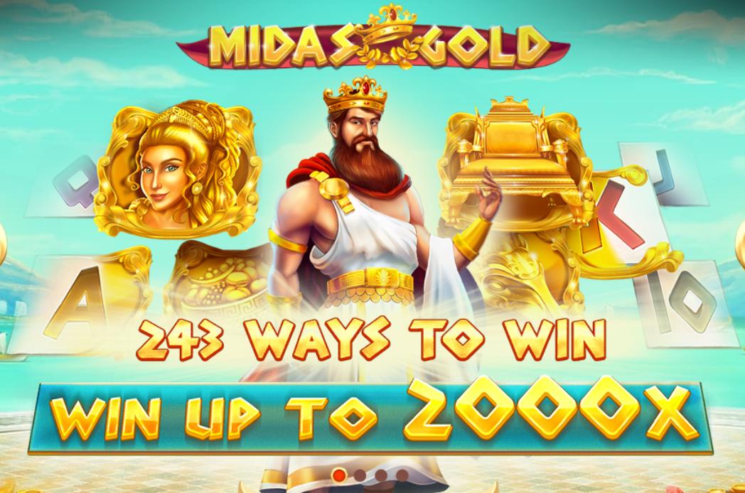 midas gold game casino online