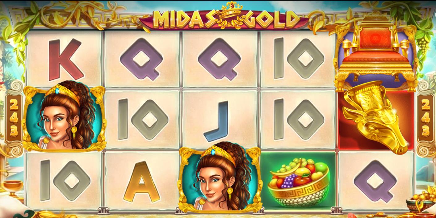 midas gold game online casino