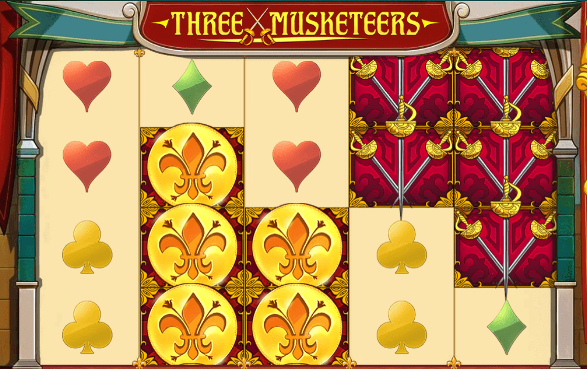 three musketeers game online slots play