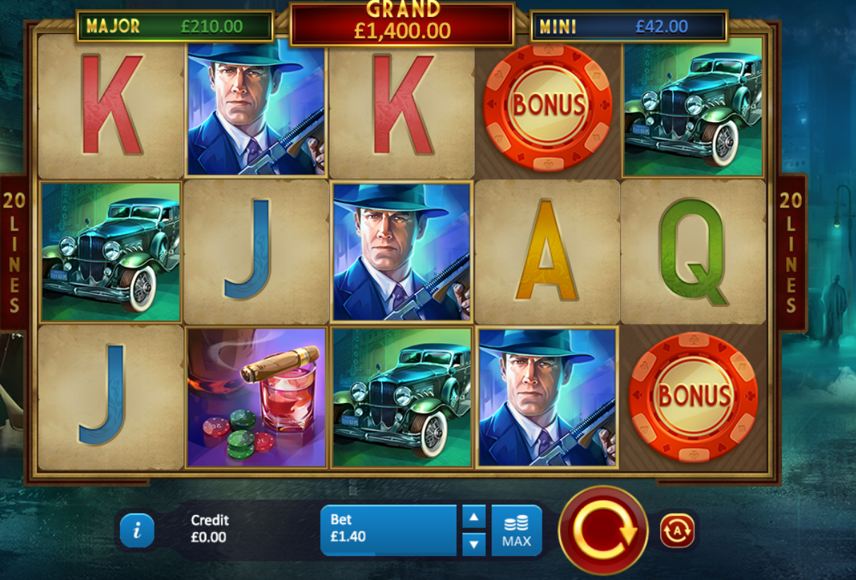 chicago gangsters slots online game