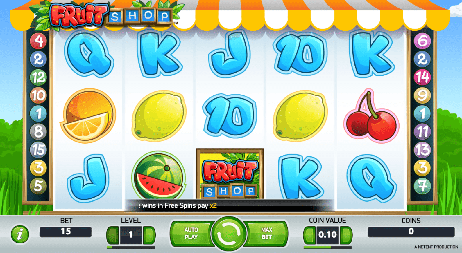 casino slots fruit shop game online