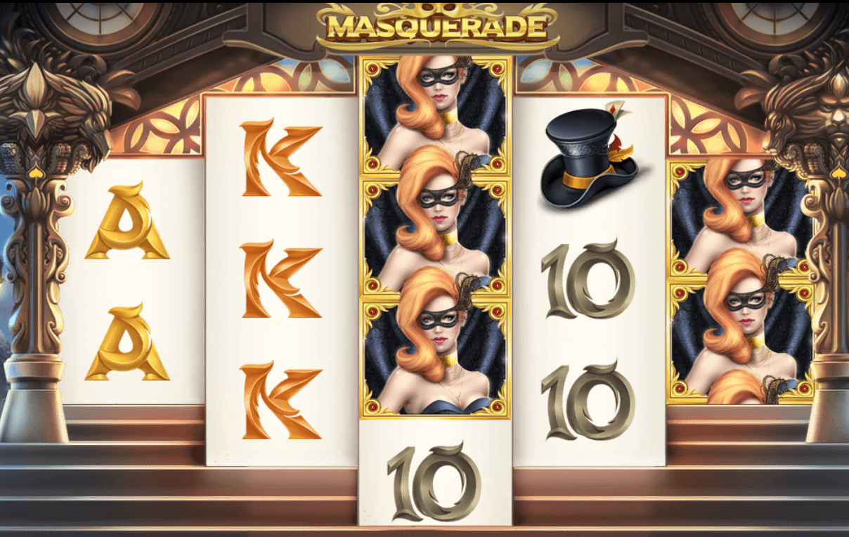 masquerade gameplay casino slots