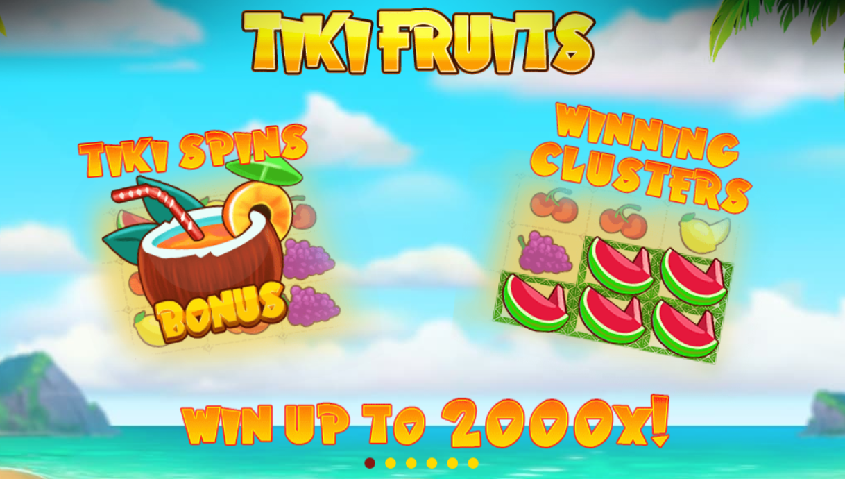 tiki fruits casino slots game online