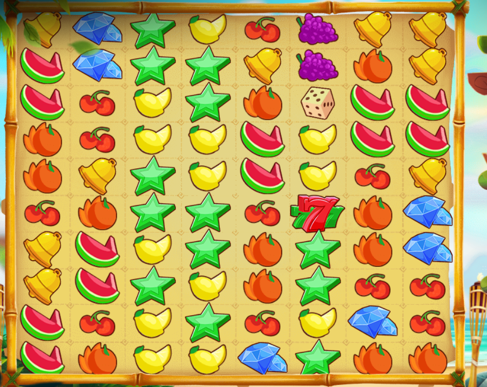 tiki fruits slots online game