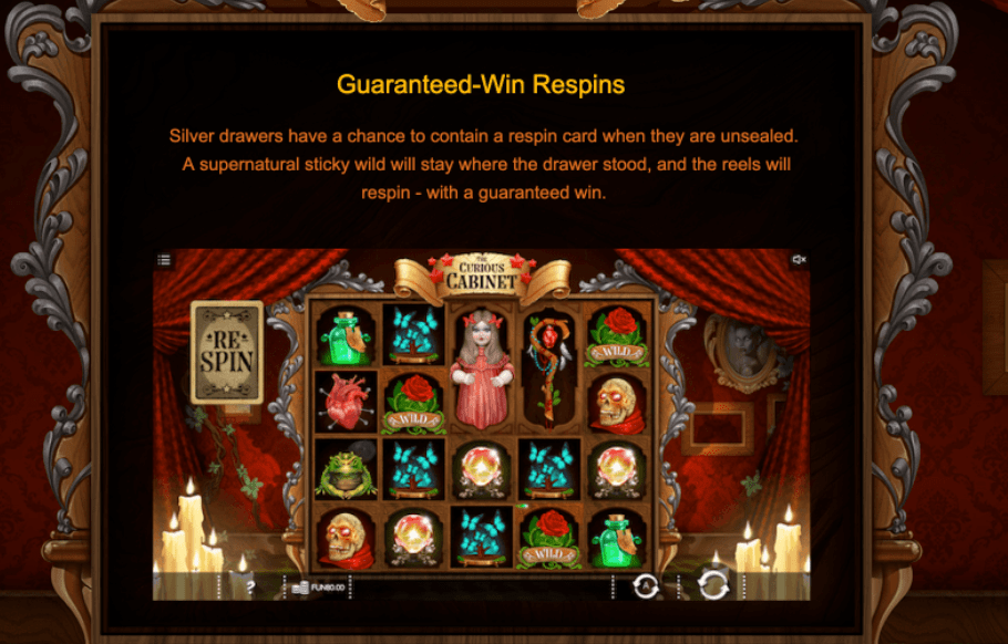 the curious cabinet slots game online casino