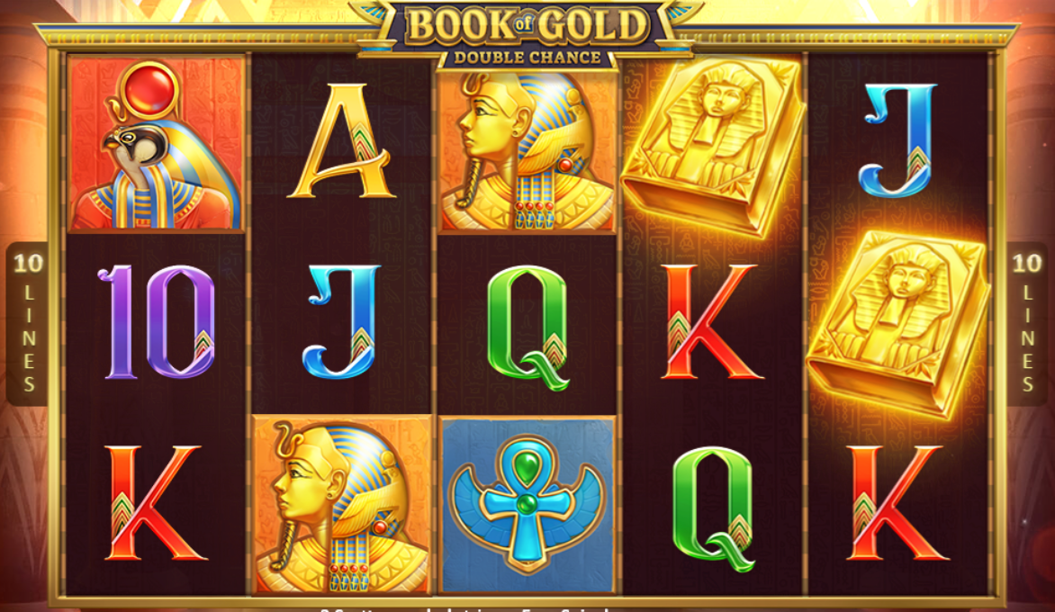 book of gold double chance gameplay casino