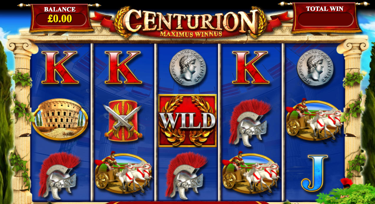 centurion game online slots play