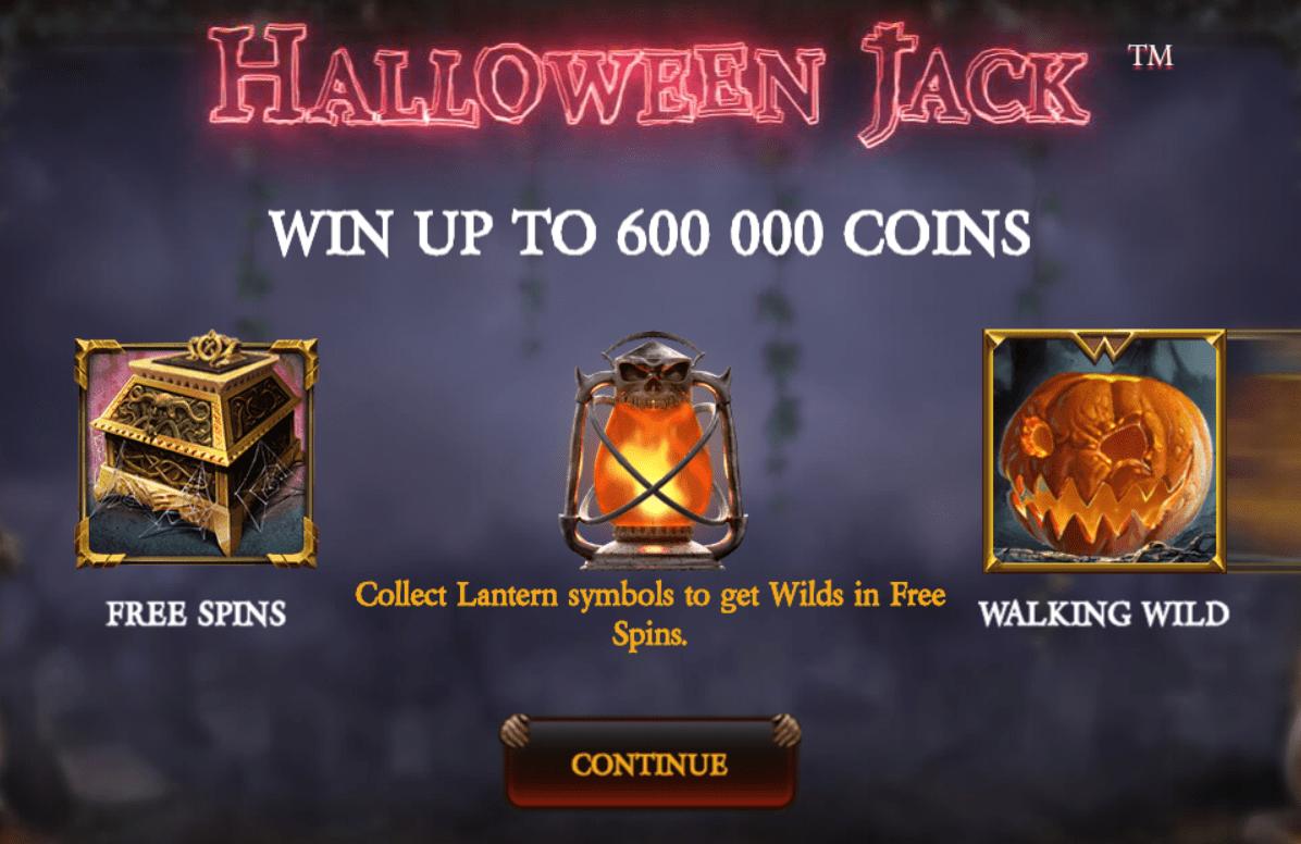 halloween jack slots game online