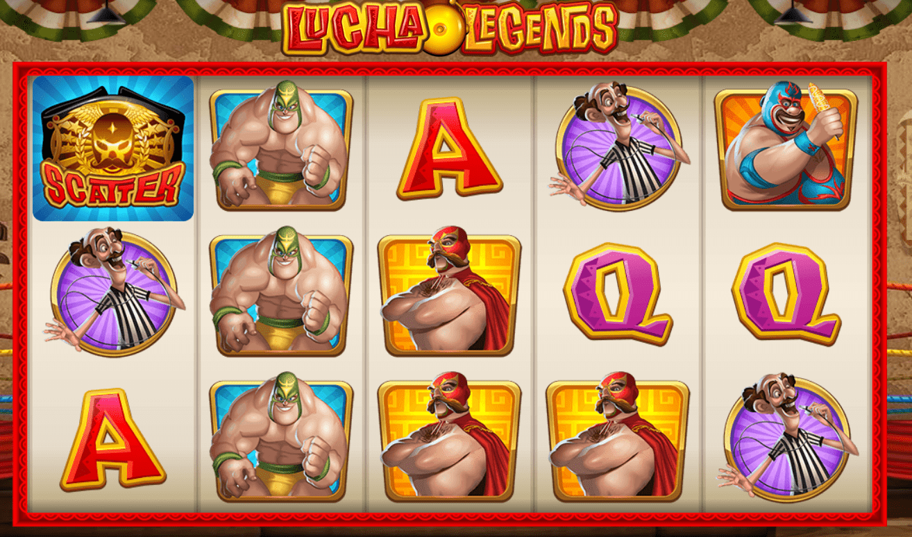lucha legends slots game online