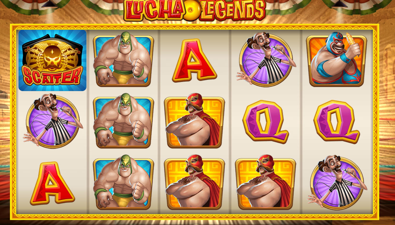 lucha legends slots online casino