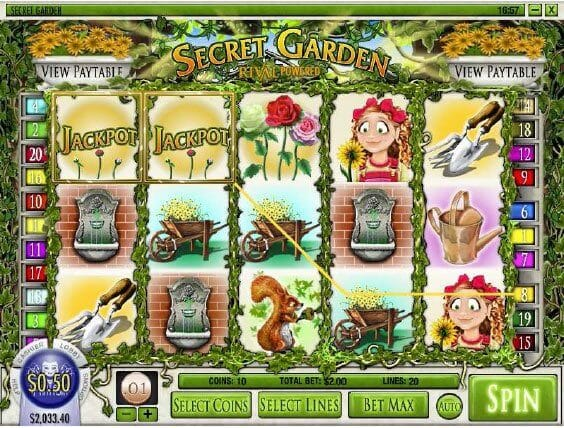 Secret Garden Gameplay