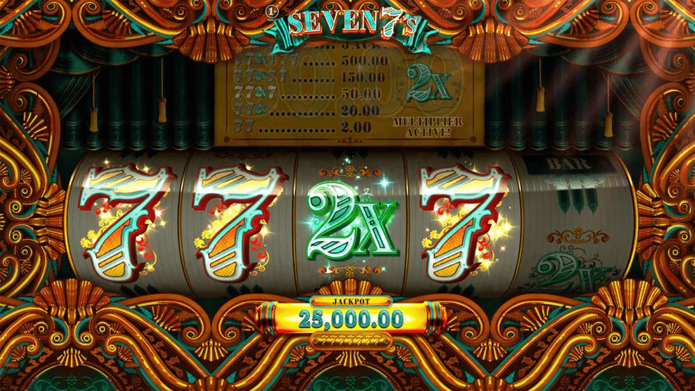 Seven 7s Slots online