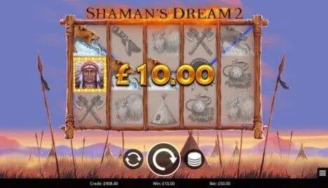 Shamans Dream 2 Slot Bonus