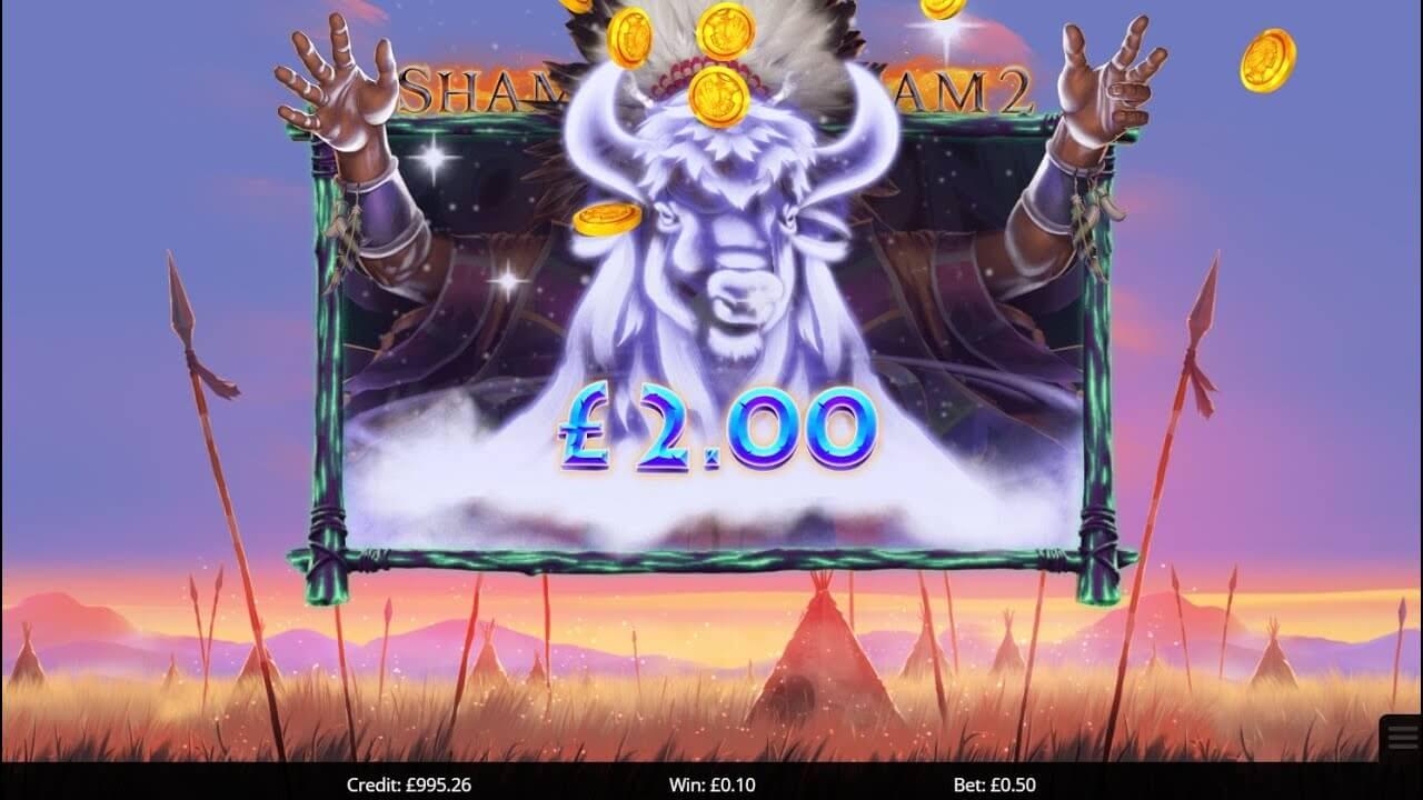 Shamans Dream 2 Slot Gameplay