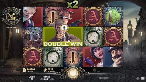 Sherlock of London Slot Bonus