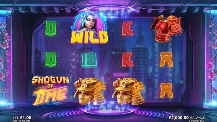 Shogun of Time Slot Bonus
