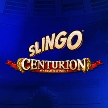 Slingo Centurion Slot Banner