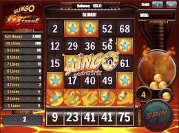 Slingo XXXtreme Slot Bonus
