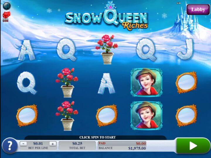 Snow Queen Riches Gameplay