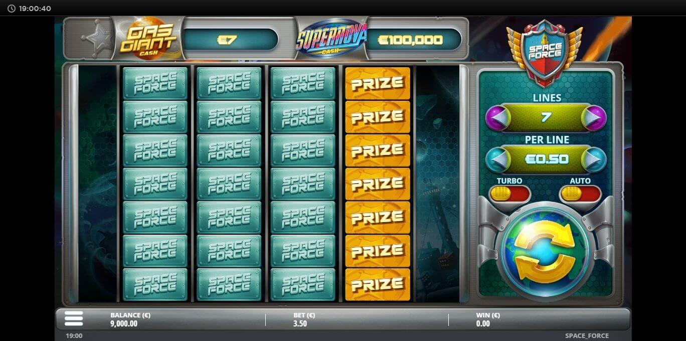 Space Force Slot Bonus