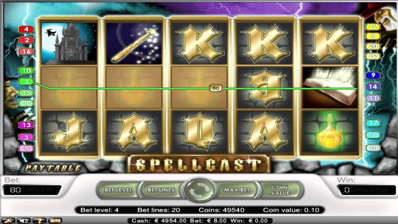 Spellcast Gameplay