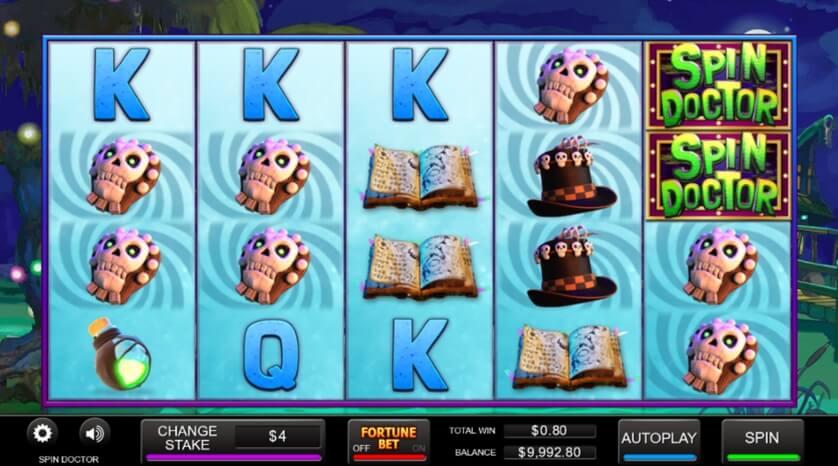 Spin Doctor Slot Bonus