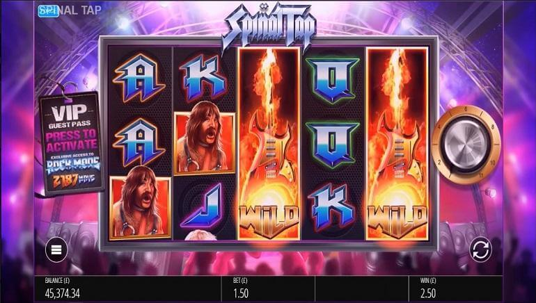 Spinal Tap Slot Bonus