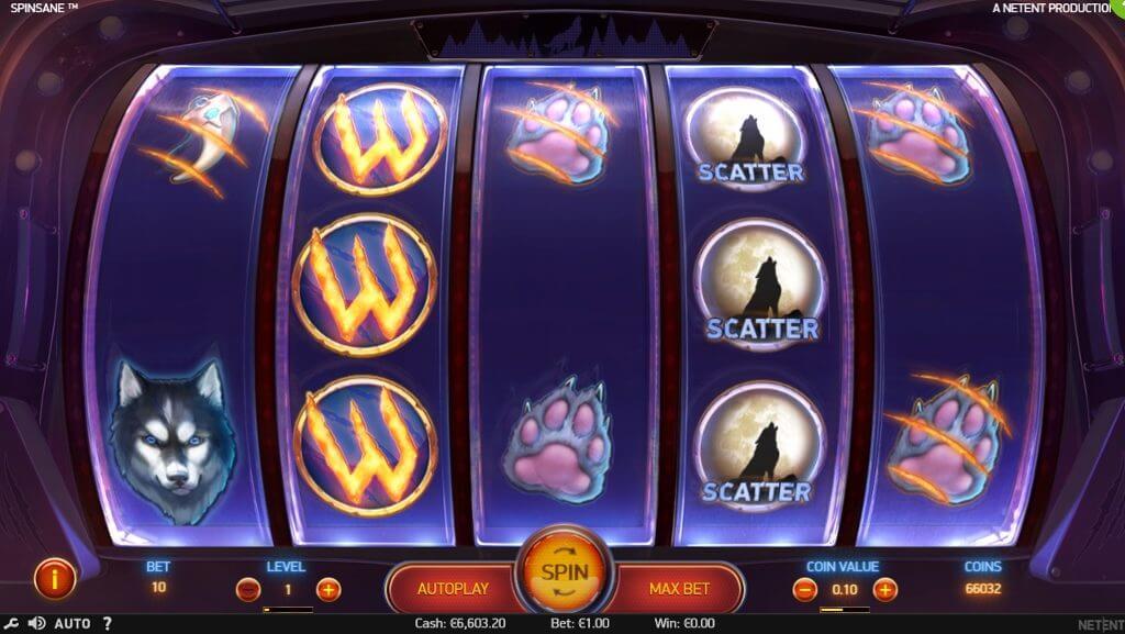 Spinsane Slot Bonus