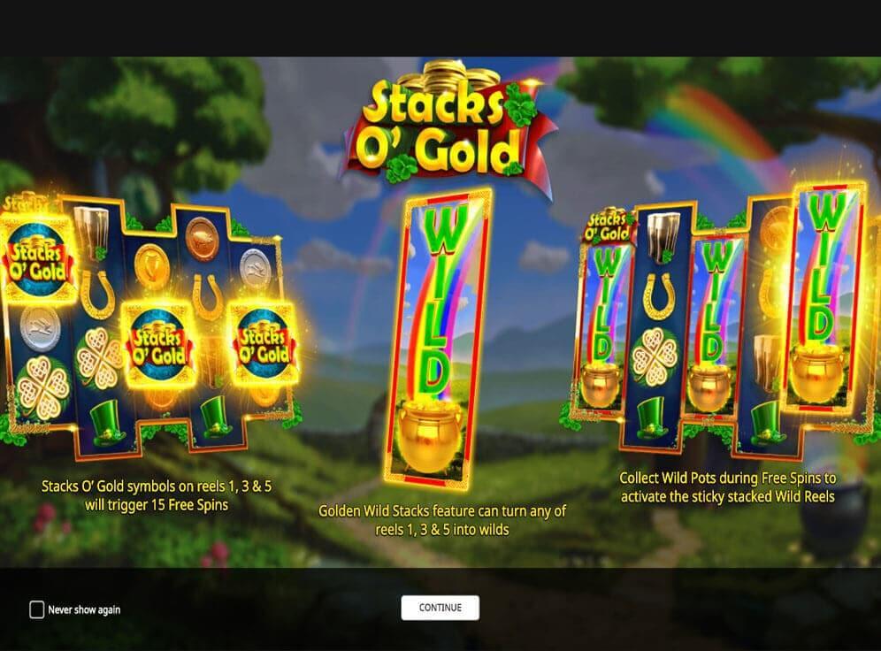 Stacks O Gold Bonus