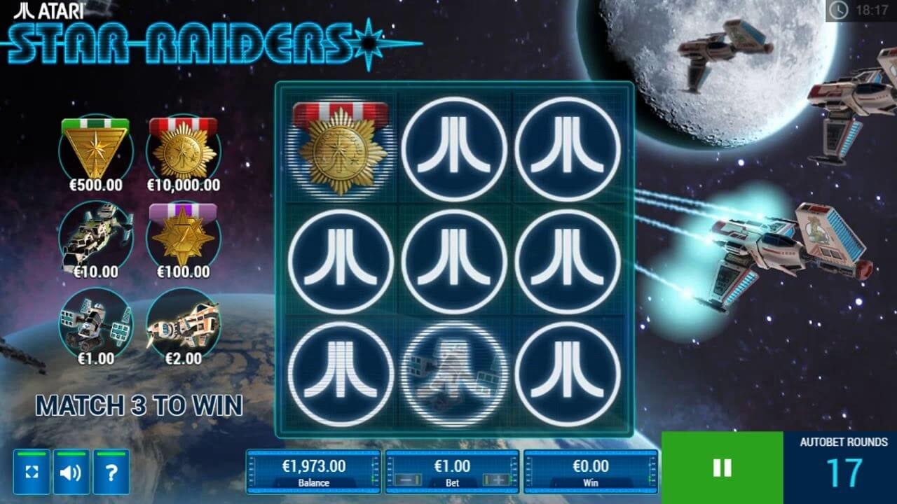 Star Raiders Gameplay