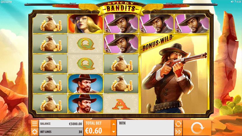 Sticky Bandits Bonus