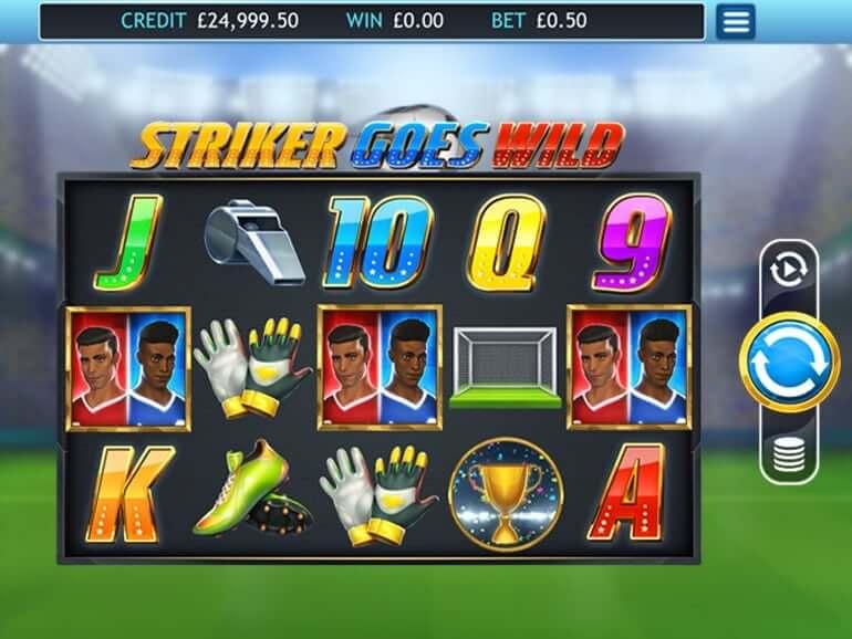 Striker Goes Wild Gameplay
