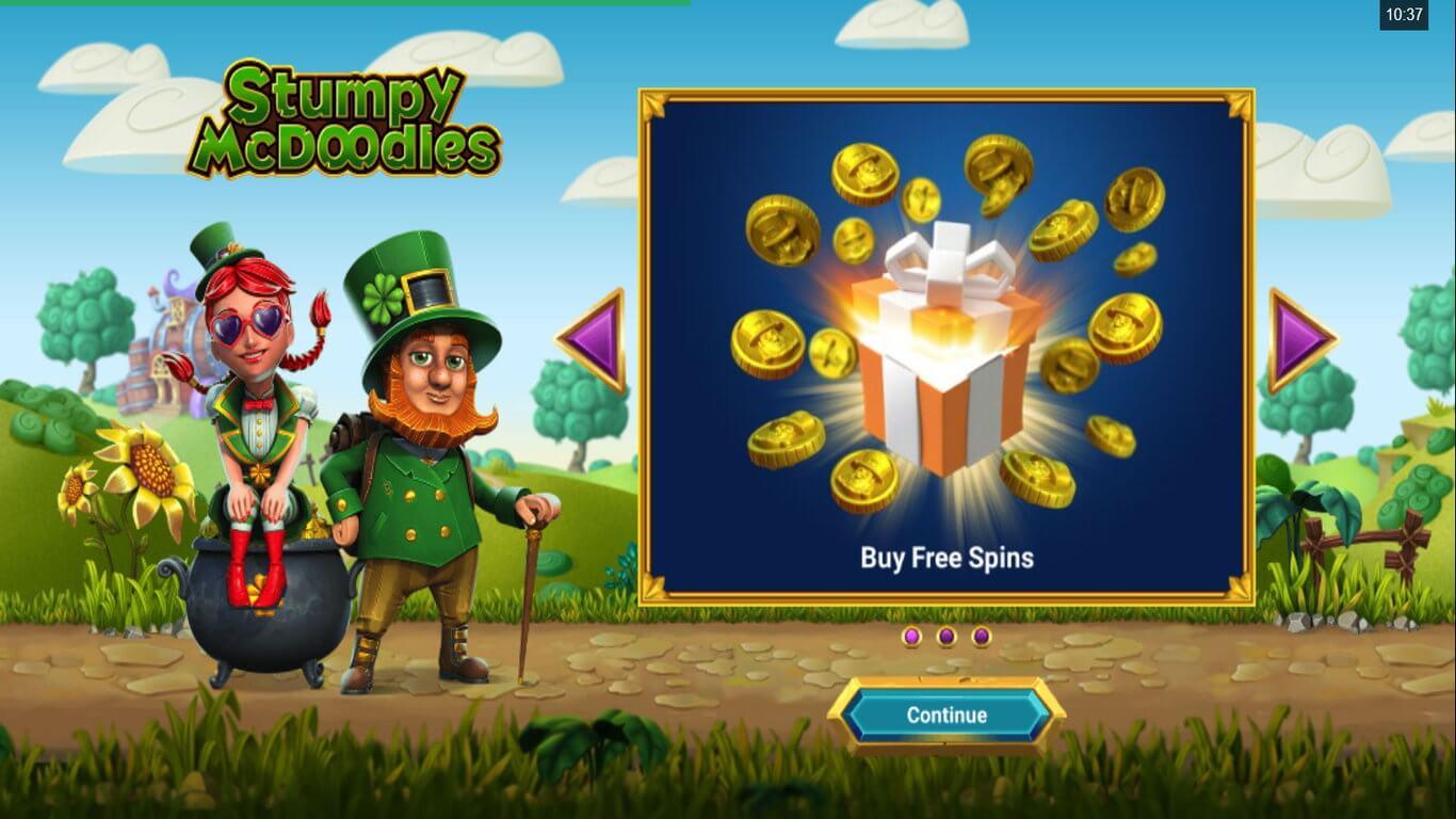 Stumpy McDoodles Slot Bonus
