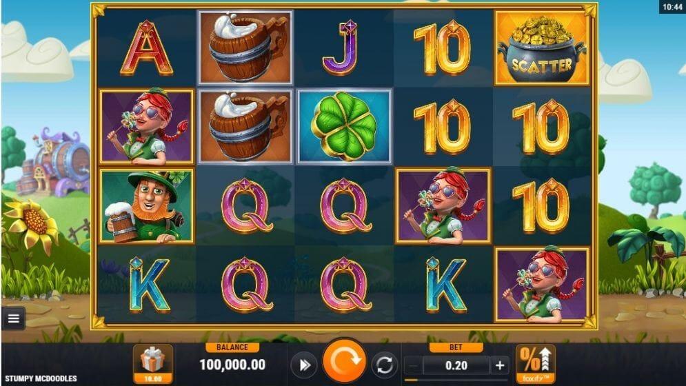 Stumpy McDoodles Slot Gameplay
