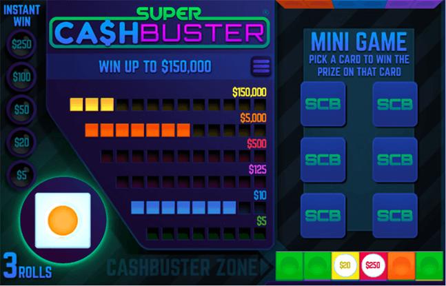 Super Cash Buster Bonus