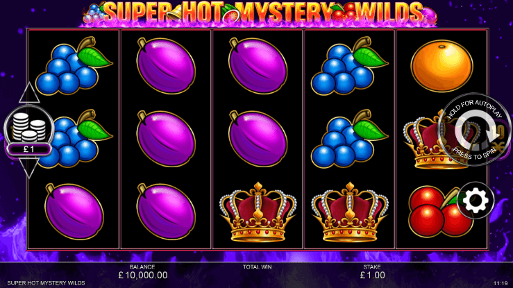 Super Hot Mystery Wilds Slot Gameplay