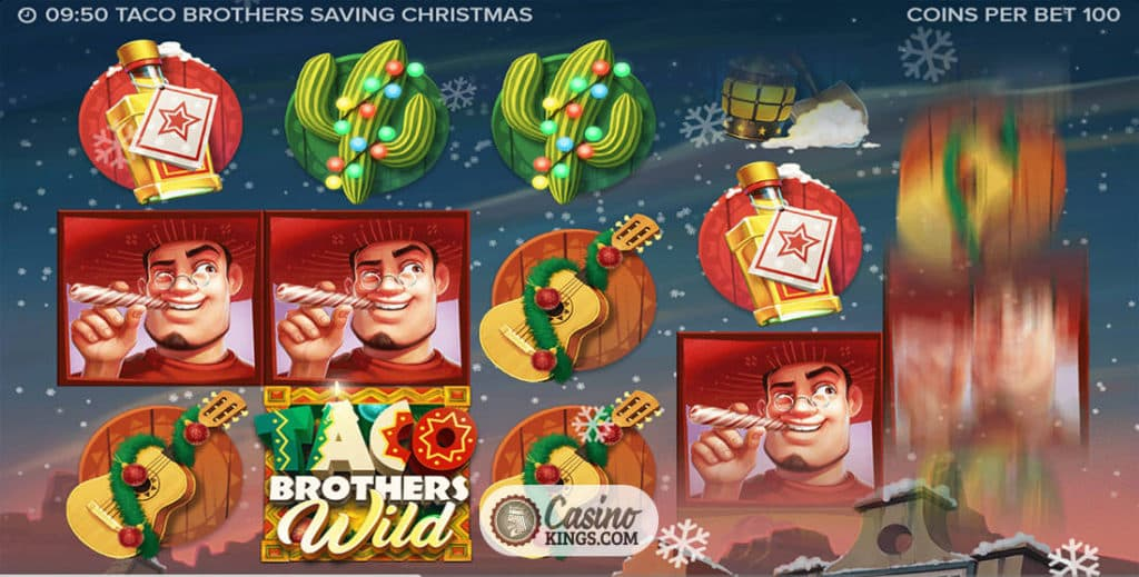 Spiele Taco Brothers Saving Christmas - Video Slots Online