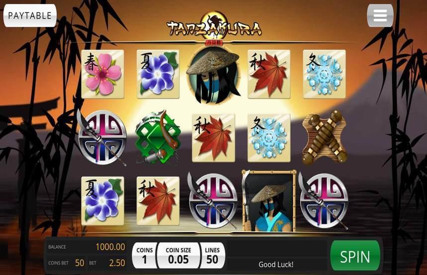 Tanzakura Slot Bonus