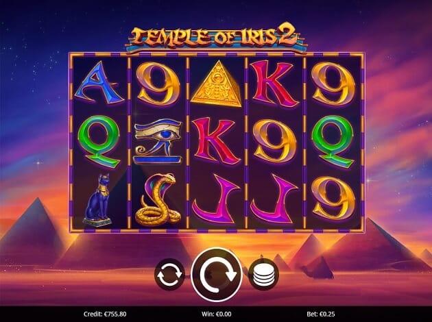 Temple of Iris 2 Slot Gameplay
