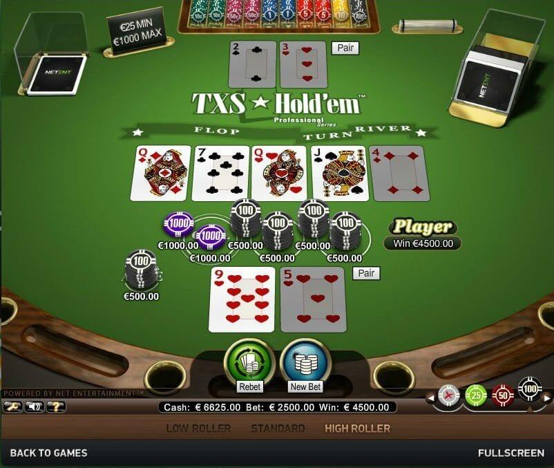 Texas Hold Em Pro Bonus