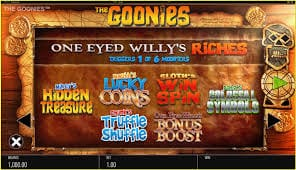 The Goonies Slot Bonus