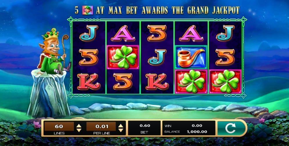 The Leprechaun King Slot Bonus