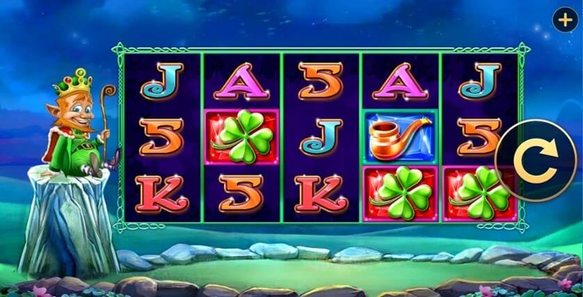 The Leprechaun King Slot Gameplay