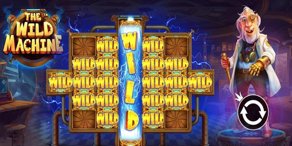The Wild Machine Slot Bonus
