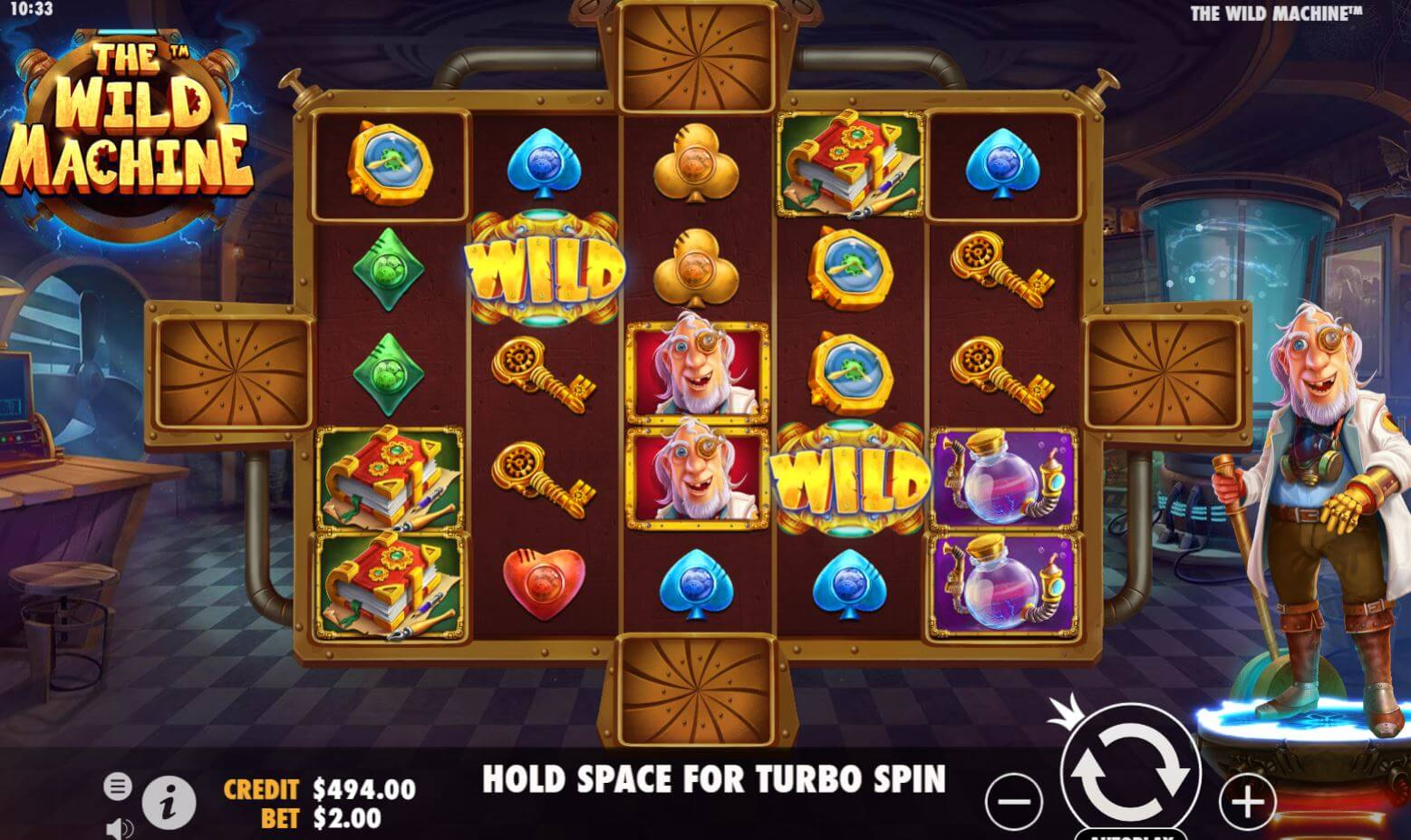 The Wild Machine Slot Gameplay