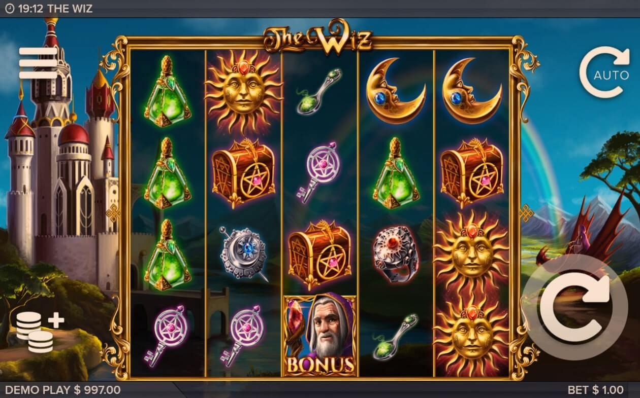 The Wiz Slot Bonus