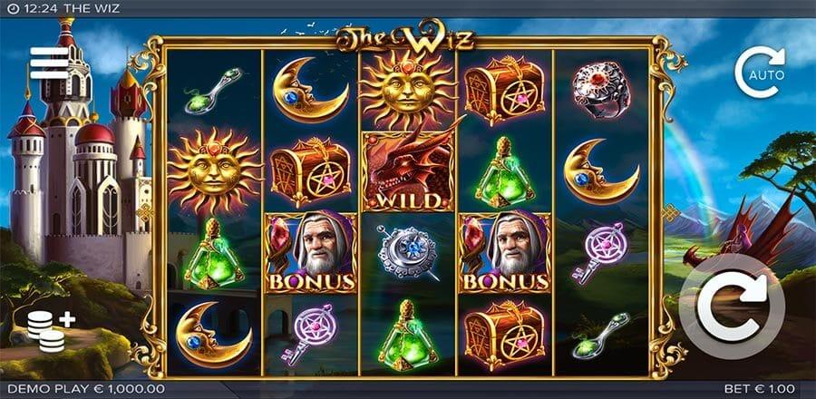 The Wiz Slot Gameplay