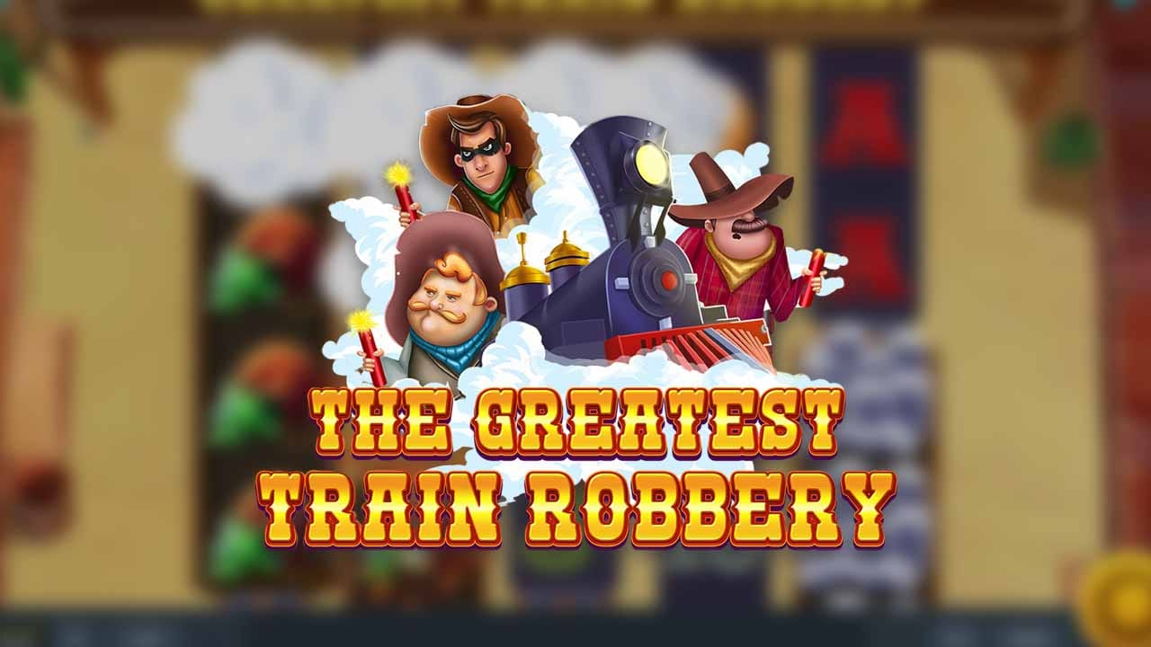 The Greatest Train Robbery Slot Logo