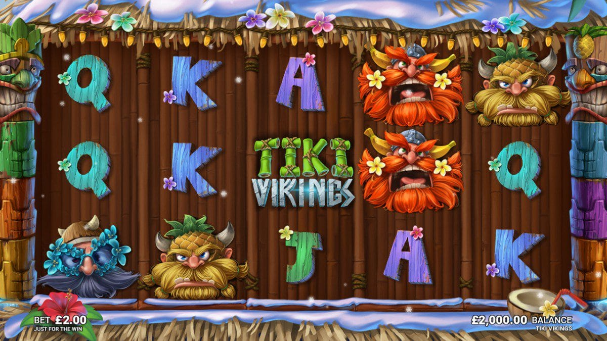 Tiki Vikings gameplay casino