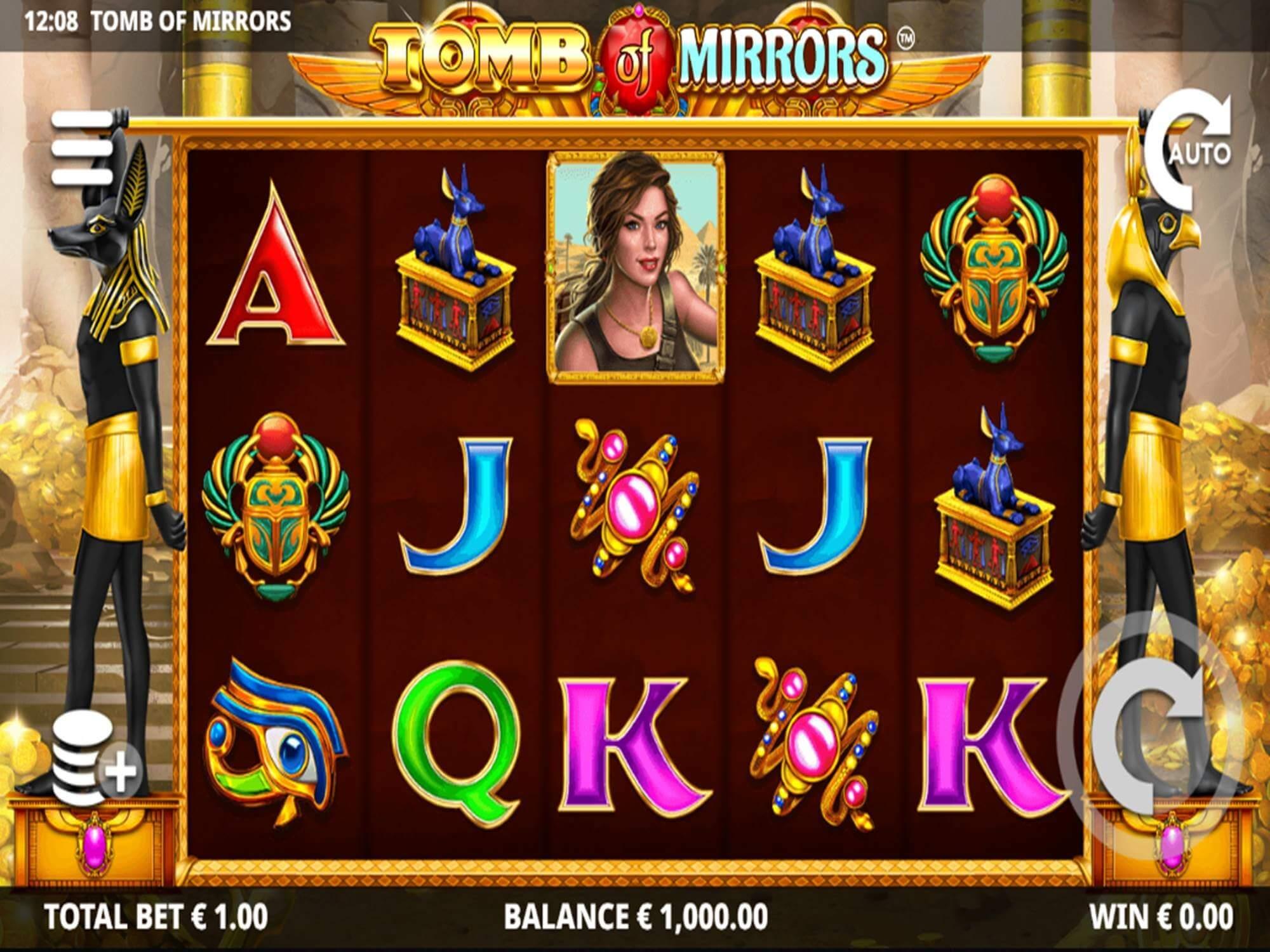 Tomb of Mirrors Slot Bonus